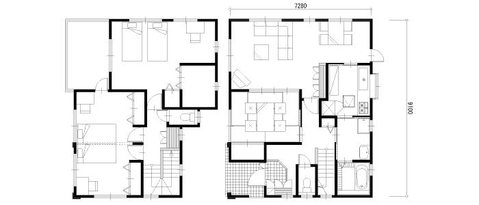 35坪の注文住宅の相場と間取り実例