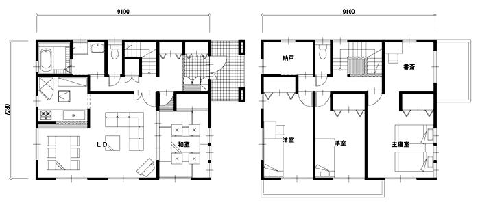 40坪以上の注文住宅の相場と間取り実例