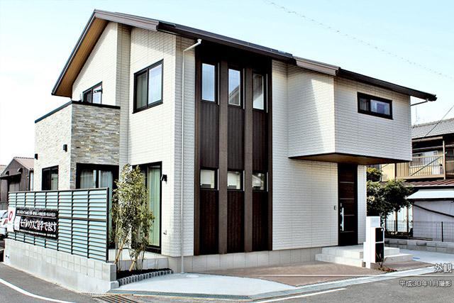 予算4000万で家を建てる間取り実例-外観写真