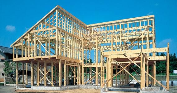 シャーウッド構法(SHAWOOD)[木造住宅構法]