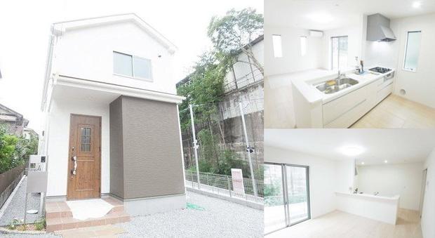 土地+建築費用3,000万円の家の外観実例