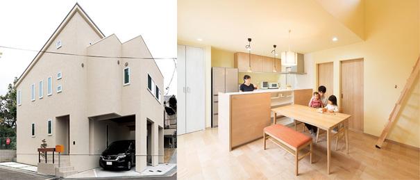 建築費用3,000万円の家の外観実例