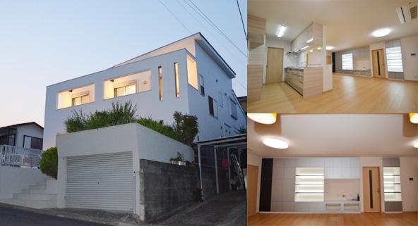 建築費用3,000万円の家の外観実例2
