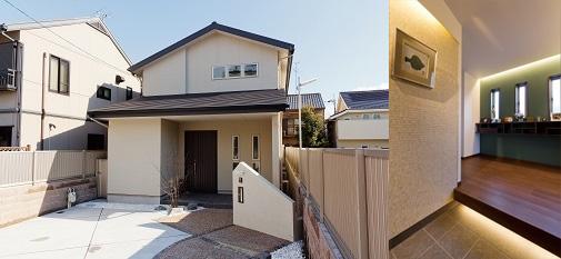 建築費用3,000万円の家の外観実例3