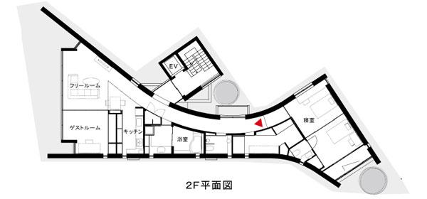 変形地[のこぎり型]の間取り設計図