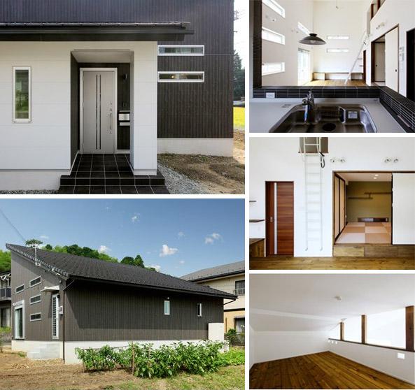 間取り例)1,500万円~2,000万円の広々ワンフロアにロフトがある平屋住宅32.3坪1LDK+RFの家