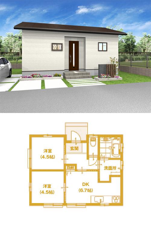 N-01(平屋住宅)